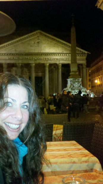My view at The Pantheon.
