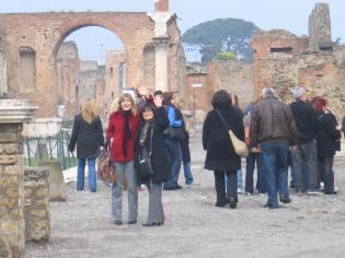 Pompeii, February 2008.