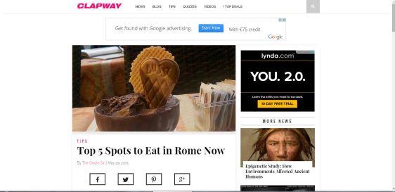 rome clapway
